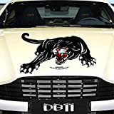 Practisol Car Decals- 1 Pcs Black Panther Car Hood Sticker, Self-Adhesive Vinyl Graphics Decals, Universal Scratch Hidden Car Stickers
