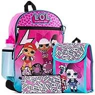 LOL Suprise backpack Lol Surprise 5 In 1 Backpack Set Children's Backpack