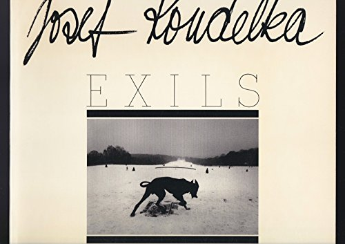 Exils. Edité à l'occasion de l'exposition ' Josef Koudelka. Conçue par le Centre National de la Photographie. Exposition au palais de Tokyo Mars-Mai 1988