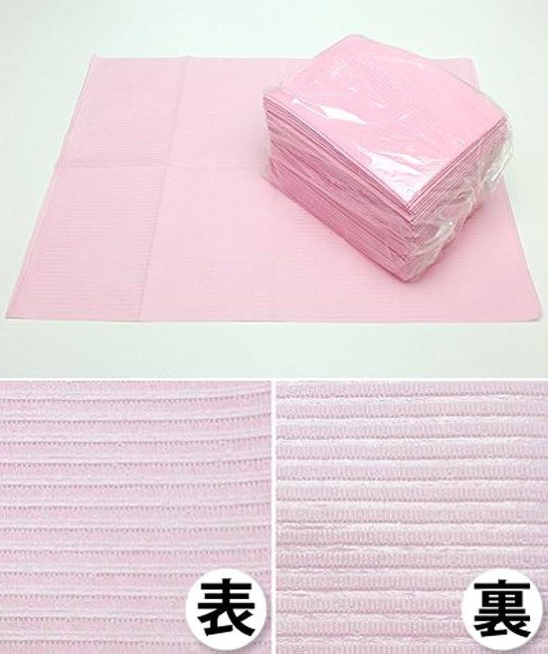キャンドル露骨な噛む防水ペーパークロス ピンク 200枚セット