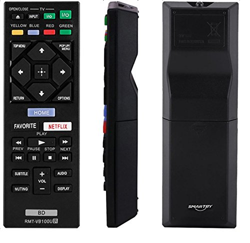 New RMT-VB100U Blu-ray Player Remote for Sony Player Remote BDP-S3500 BDP-S5500 BDP-S4500 BDP-S6500 BDP-BX150 BDP-BX350 BDP-BX550 BDP-BX650 BDP-S1500 BDP-S2500 BDP-S2900