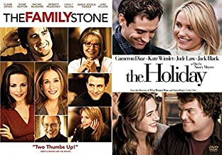 Annual Holiday Gathering and a Romantic Pick me up The Family Stone & The Holiday Double Feature Movie DVD Pack