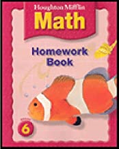 Houghton Mifflin Math © 2005: Homework Book Grade 6