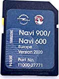 OPEL NAVI 900/600 Navigation SD Card Europe 2018-2019