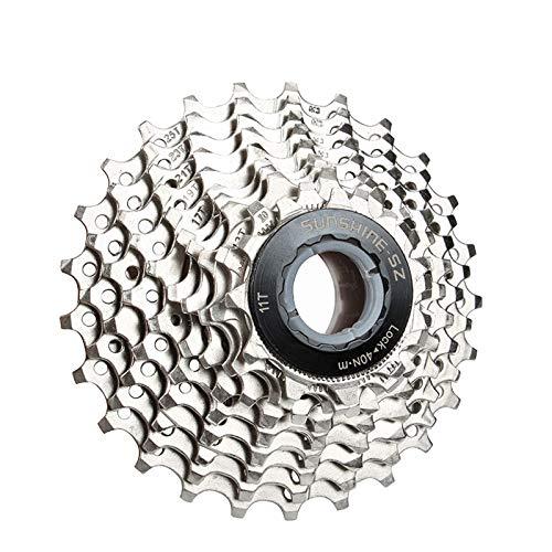 Bicicleta Cassette de 10 Velocidades 11-25T la Bici del Camino Posicionamiento Volante, Las Partes Modificadas compatibles con Shimano ULTEGRA TIAGRA SRAM, sensah, LTWOO, Microshift