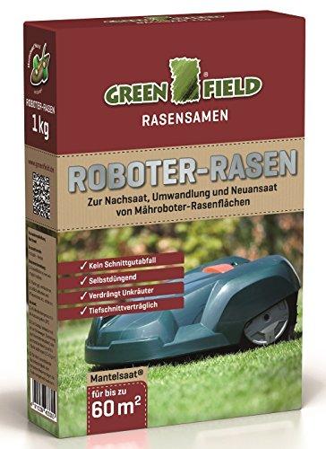Greenfield Roboter Rasen Mantelsaat 1 kg für ca. 60 m²