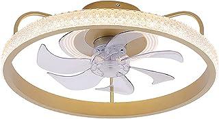 Ventilateur Plafond Avec Lumiere Et Telecommand Ventilateur Silencieux Plafond Lumiere Lustre Ventilateur Chambre Salon Lu...