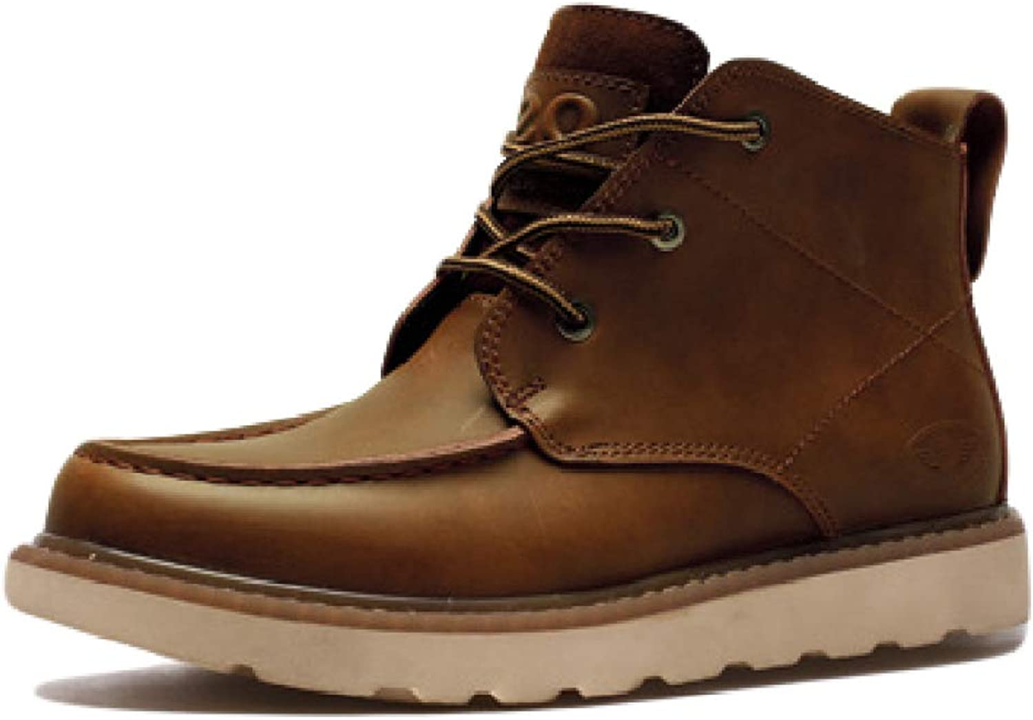 Martin shoes Men's Lacing Ankle shoes Short Boots Work Boots Casual Safety Boots Thick Heel Mountain Climbing