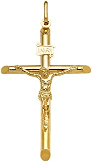 Best 18ct gold crucifix pendant Reviews