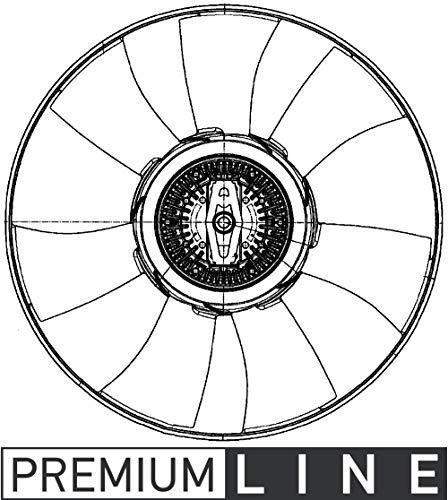 Mahle CFF 501 000P Ventilador de Condensador y refrigerador