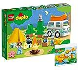 Collectix Juego Lego: Duplo de aventura familiar con autobús de camping 10946 + Duplo, mi primer pato 30327 (bolsa de plástico)