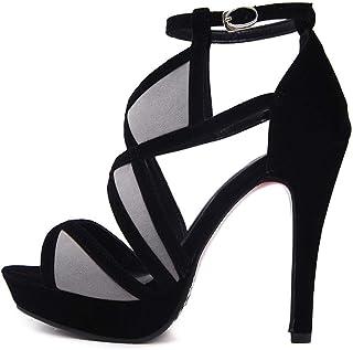 464bf39a6972d3 Femmes Salle De Bal Chaussures Talon Haut,Femmes ÉLéGantes à Talon  Aiguilles Chaussures à Talons