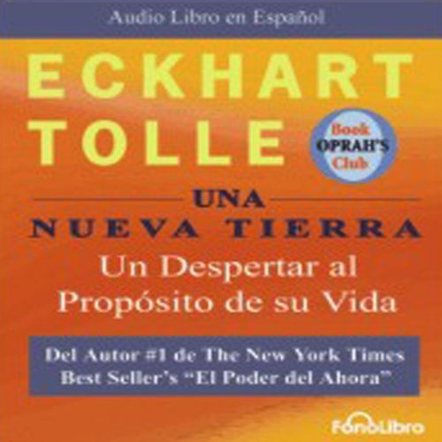 Una Nueva Tierra [A New Earth] audiobook cover art