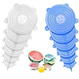 ZZF-LYA Stretchable Silicone Lid, 12-Pack in...