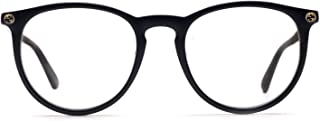 Gucci GG0027O Plastic Round Eyeglasses Size 50 mm