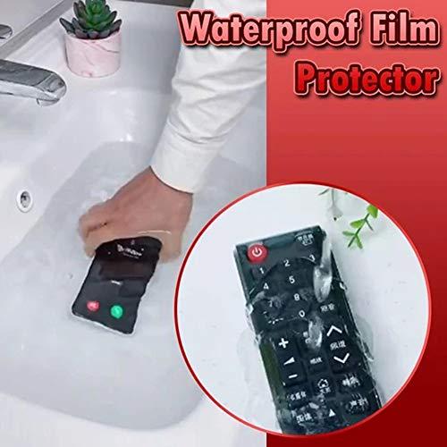 KeKeandYaoYao 100 Stks PVC Film Beschermer Waterdichte Anti Oxidatie Vochtdicht Stofdicht Portectief Cover Voor Computer Schoenen Telefoon Clear