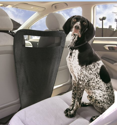 Pet Parade Auto Pet Barrier Blocks Dogs Access To Car Front Seats &...