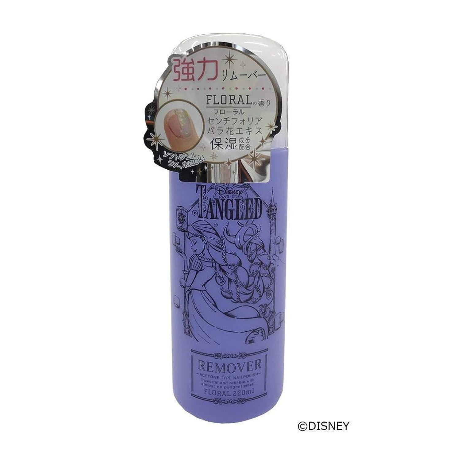まだら経済世辞ドリームドロップコレクション プリンセスコレクション ネイルリムーバー ラプンツェル -フローラルの香り- DN04969