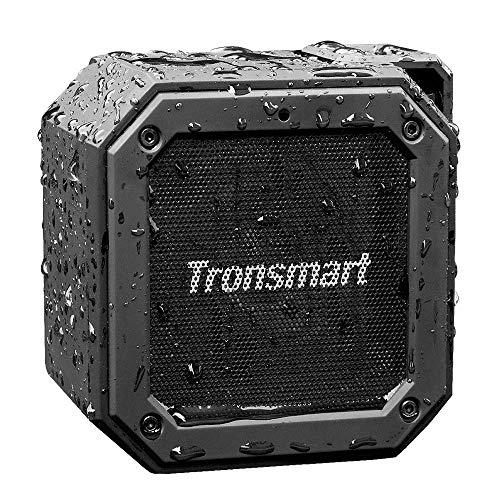 Tronsmart Groove Altavoz Exterior Bluetooth Portátiles, 24 Horas de Reproducción, Impermeable IPX7, Extra Bass, Construido en Micrófono, para Smartphones, Fiesta, Viajes, Playa