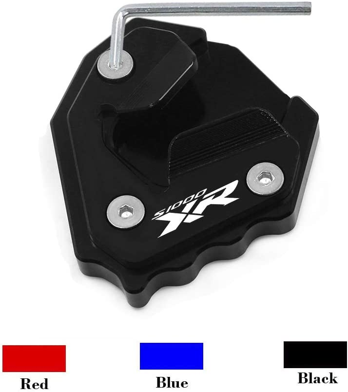 Finally Store popular brand Worldmotop Motorcycle Kickstand Pad Support pad stand side plate