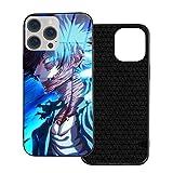 My Hero Academia Dabi Anime iPhone 12 Glass Case Shockproof for Anime Japanese IP12mini-5.4