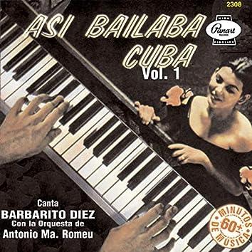 Así Bailaba Cuba, Vol. 1