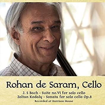 Rohan De Saram, Cello
