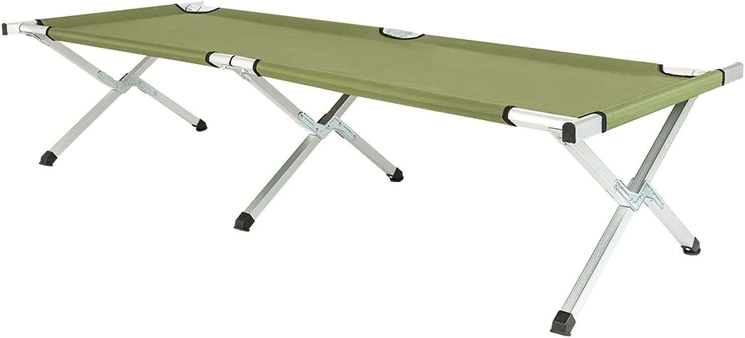 Max 74% OFF Punkray Folding Camping Cot with Carrying Bag Army Denver Mall Campin Green