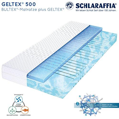 Schlaraffia Geltex 500 Bultex Matratze 140x200 cm H2