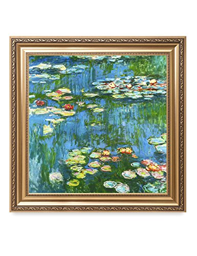 DECORARTS - Water Lily Pond 1914, Claude Monet Art Reproduction. Giclee Print& Museum Quality