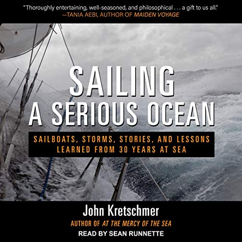 Sailing a Serious Ocean cover art