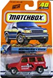 Matchbox Mercedes-Benz G Wagon 2000 Space Explorer First Edition Series 1:64 Scale Collectible Die Cast Metal Toy Car Model #40 of 100