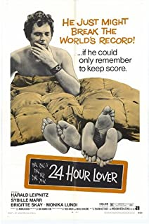 24 Hour Lover Movie Poster (27 x 40 Inches - 69cm x 102cm) (1970) -(Harald Leipnitz)(Sybille Mar)(Berbert Botticher)(Brigitte Skay)