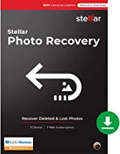 Stellar Photo Recovery Software | for Mac | Standard | Recover & Repair Deleted or Corrupt Photos, Audios, Videos | 1 Device, 1 Yr Subscription | Instant Download (Email Delivery)