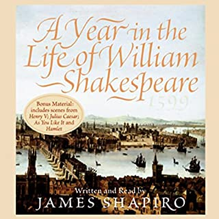 A Year in the Life of William Shakespeare audiobook cover art