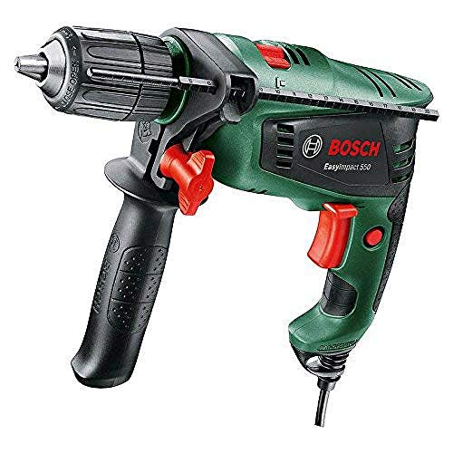 BOSCH 0603130070 EasyImpact 550 Hammer Drill, Green, 12.5 cm*37.0 cm*38.6 cm