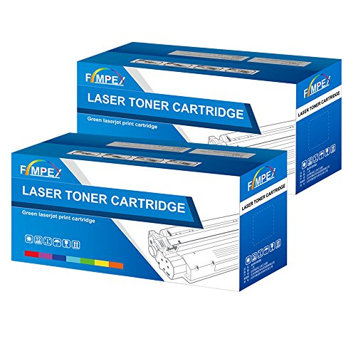 Fimpex Compatibile Toner Cartuccia Sostituzione Per Samsung ML-2160 ML-2162 ML-2165 ML-2165W ML-2168 SCX-3400 SCX-3400F SCX-3405 SCX-3405F SCX-3405FW SCX-3405W SF-760P MLT-D101S (Nero, 2-Pack)