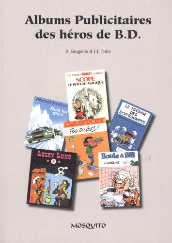 Albums publicitaires des héros de BD