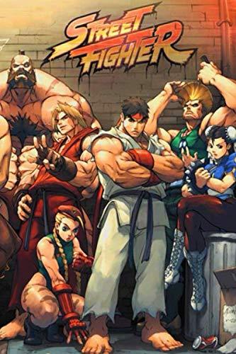 Street Fighter Notebook Journal