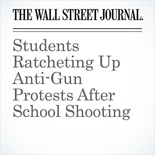 Students Ratcheting Up Anti-Gun Protests After School Shooting copertina