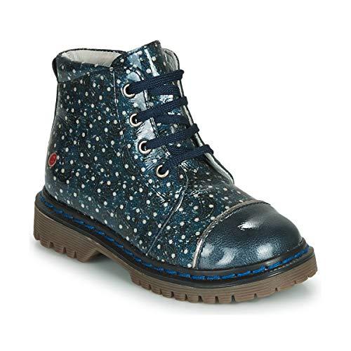 GBB NEVA Enkellaarzen/Low boots meisjes Marine Laarzen
