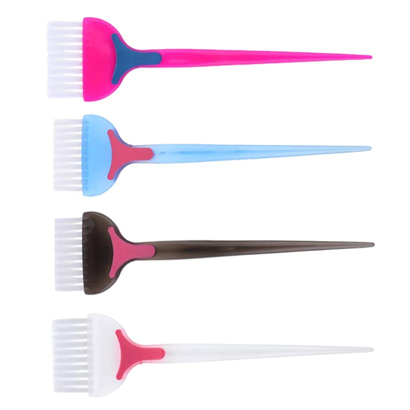 書き込み裏切りお願いしますPerfeclan ヘアダイ コーム 髪染めブラシ 天然樹脂 耐高温 帯電防止 靭性 壊れにくい 家庭用 美容師プロ用