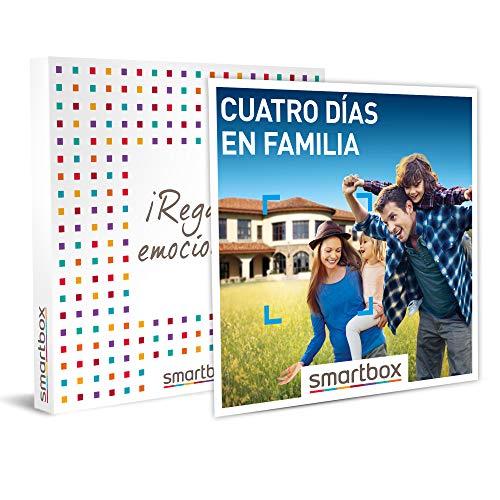 SMARTBOX - Caja Regalo hombre mujer pareja idea de regalo - Cuatro días en familia - 337 estancias en hoteles, casas rurales y mucho más