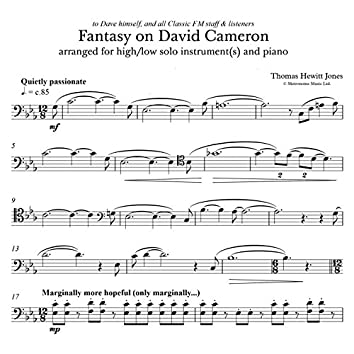 Fantasy on David Cameron (David Cameron's Lament in C Minor)