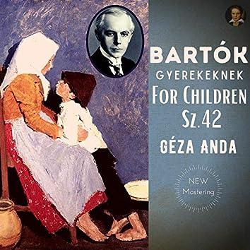 Béla Bartok by Géza Anda: For Children Sz.42