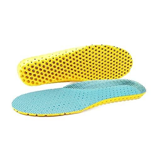 XIEZI Plantillas De Aumento De Altura Inserciones Ortopédicas Sport Stretch Transpirable Running Cojines Plantillas Para Pies Hombre Mujer Plantillas Para Zapatos Suela Almohadilla Ortopédic