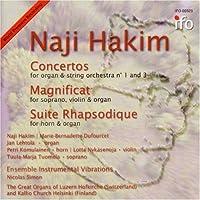 Hakim: Organ Concertos 1 & 3