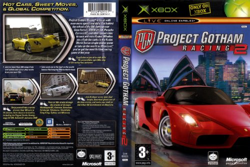 Project Gotham Racing 2 [Xbox]