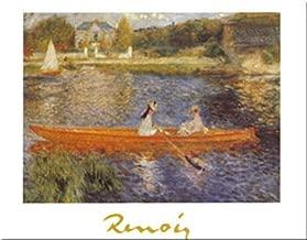 Buyartforless The Seine at Asnieres by Pierre-Auguste Renoir 9.5x12 Art Print Poster