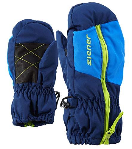 Ziener Kinder Luano Skihandschuhe für Kinder , ESTATE blau, 104 EU